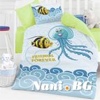 Бебешко спално бельо - Морско приключение