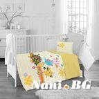 Бебешко спално бельо - Жълта Костенурка