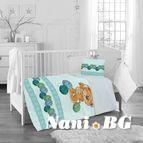 Бебешко спално бельо - Мече с прежда