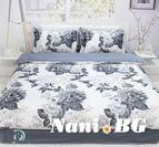 Спално бельо памучен сатен Лолита