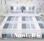 Спално бельо памучен сатен Елена