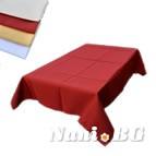 Покривка за маса Точки - бордо