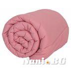 Зимна олекотената завивка - Бейби розово