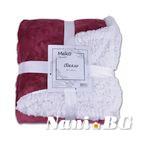 Одеяло DF eдноцветно - Лилав