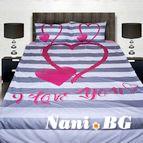 3Dспално бельо Романтични - Lovers