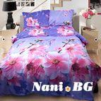 3Dспално бельо Флорални - Пролетен цвят