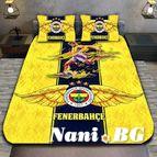 3Dспално бельо Футбол - Fenerbahce
