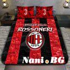 3Dспално бельо Футбол - AC Milan