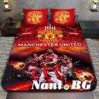 3Dспално бельо Футбол - FC Manchester Unated