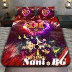 3Dспално бельо Футбол - FC Barcelona