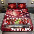 3Dспално бельо Футбол - FC Arsenal