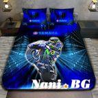 3Dспално бельо с Мотори - YAMAHA ENEOS