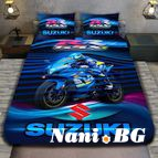3Dспално бельо с Мотори - Suzuki