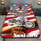 3Dспално бельо с Мотори - Harley Davidson