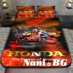 3Dспално бельо с Мотори - Honda