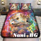 3Dспално бельо с Животни - WOLF