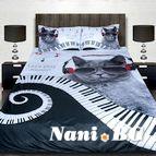 3Dспално бельо с Животни - Let s play music