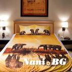 3Dспално бельо с Животни - Elephants