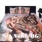3Dспално бельо с Животни - Pegasus
