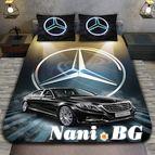 3Dспално бельо с Коли - Mercedes Mybach S-class