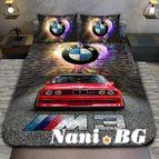 3Dспално бельо с Коли - BMW M3