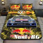 3Dспално бельо с Коли - Volkswagen Redbull
