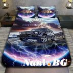 3Dспално бельо с Коли - Mercedes G Clas