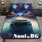 3Dспално бельо с Коли - Bmw winx