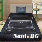 3Dспално бельо с Камиони - Mercedes-Benz