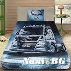 3Dспално бельо с Камиони - Man 1