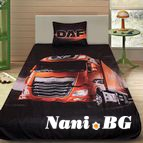 3Dспално бельо с Камиони - DAF