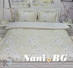 Спално бельо памучен сатен Даниела