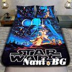 Детско 3D спално бельо - STAR WARS
