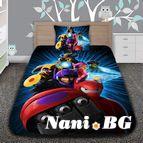 Детско 3D спално бельо - Big Hero