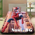 Детско 3D спално бельо - City Spiderman