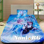 Детско 3D спално бельо - Frozen
