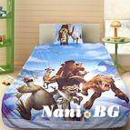 Детско 3D спално бельо - Ice Age