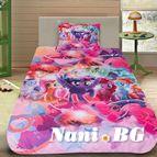 Детско 3D спално бельо - My Little Pony
