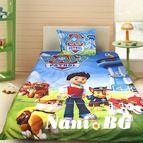 Детско 3D спално бельо - Paw Patrol