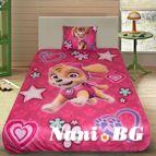 Детско 3D спално бельо - Paw Patrol Pink