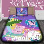 Детско 3D спално бельо - Peppa Pig