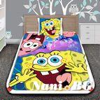 Детско 3D спално бельо - Smiley of Spongebob