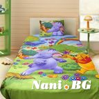 Детско 3D спално бельо - Winnie The Pooh Rainbow