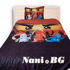 Детско 3D спално бельо - Ninjago