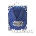 Луксозен хавлиен халат в кутия Бети синьо