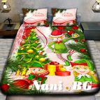 Детско 3D спално бельо - Merry Christmas Girl