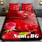 3Dспално бельо Романтични - Червена Роза