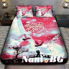 3Dспално бельо Романтични - Романтика