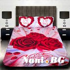 3Dспално бельо Романтични - Valentines day
