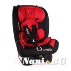 Детско столче за кола Hybrid 0-36 kg - червен